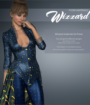 Poser - Wizzard 2D Graphics Merchant Resources Atenais