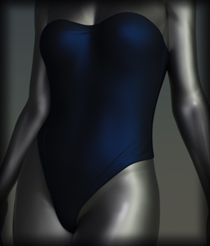Future Swimwear 10 for G3F and G8F 3D Figure Assets EdArt3D