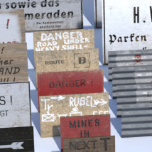 WWII Roadsigns image 3