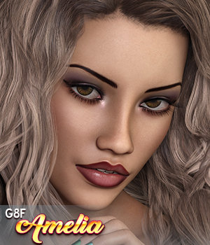 SublimelyVexed Amelia Genesis 8 Female 3D Figure Assets 3DSublimeProductions