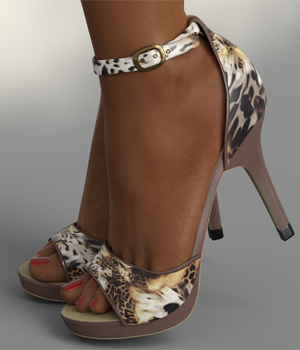 InStyle - Lysithea Shoes - for Genesis 8 and Victoria 8 3D Figure Assets -Valkyrie-