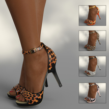 InStyle - Lysithea Shoes - for Genesis 8 and Victoria 8 image 1