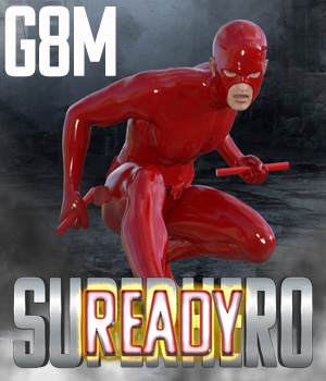 SuperHero Ready for G8M Volume 1 3D Figure Assets GriffinFX