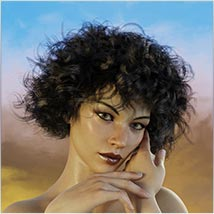 Coira Hair for G3/G8 Daz image 1