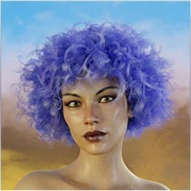 Coira Hair for G3/G8 Daz image 2