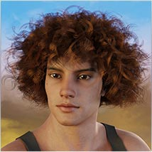 Coira Hair for G3/G8 Daz image 4