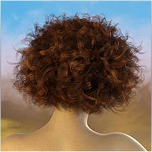 Coira Hair for G3/G8 Daz image 7