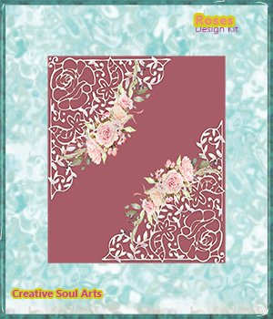 Roses Design Kit 2D Graphics Merchant Resources CreativeSoulArts