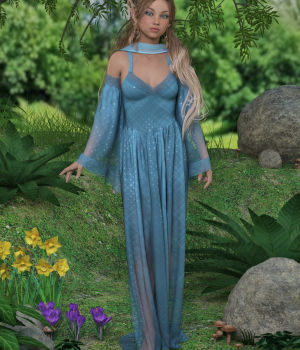dForce Laela Outfit for Genesis 8 Female 3D Figure Assets WildDesigns