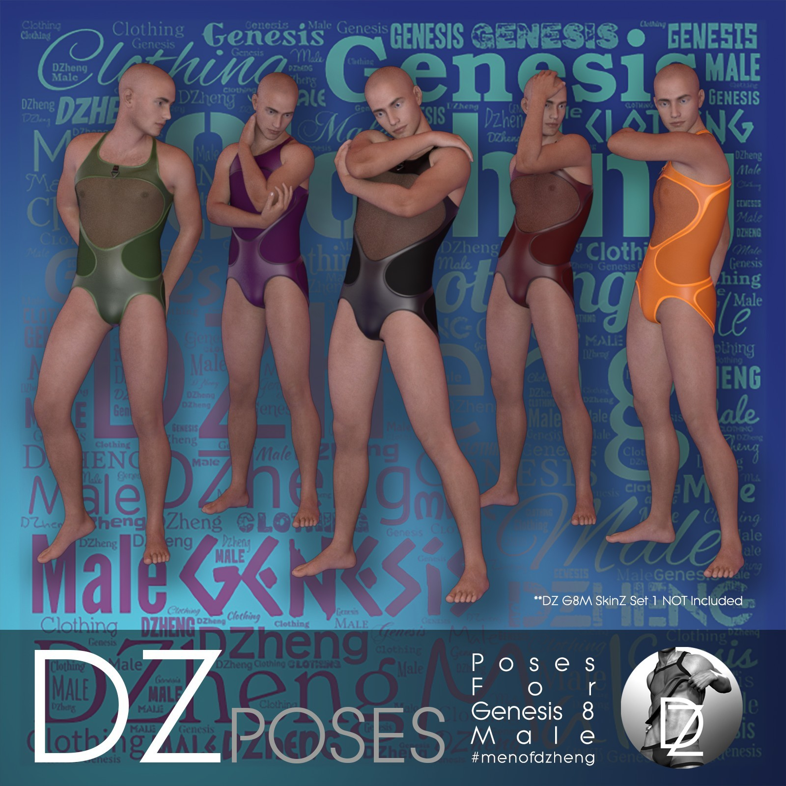 DZ G8M FashPoses - Looking Back by dzheng