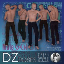 DZ G8M FashPoses - Looking Back image 2