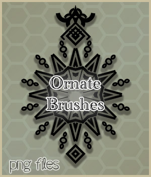 Ornate Brushes 2D Graphics adarling97