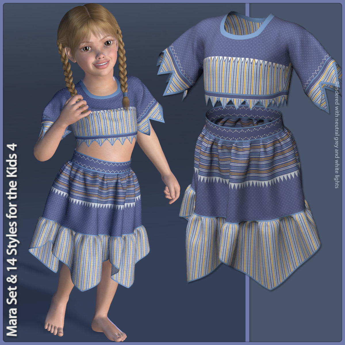 Mara Set and 14 Styles for the Kids 4