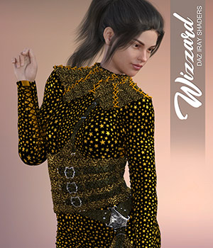 Daz Iray - Wizzard 2D Graphics 3D Figure Assets Merchant Resources Atenais