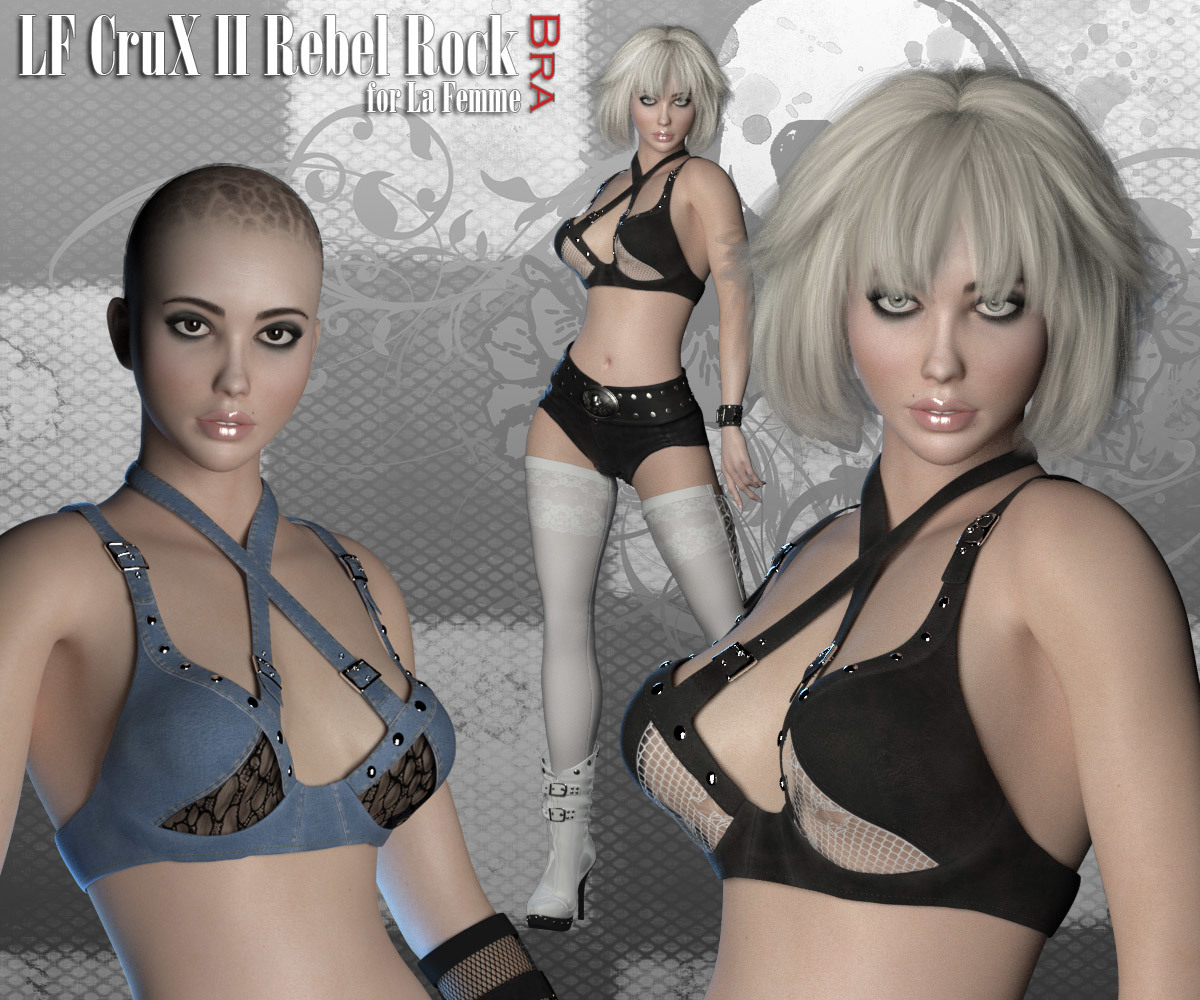RP CruX II Rebel Rock Bra for La Femme by RPublishing