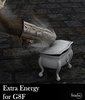 Extra Energy for G8F 3D Models biala