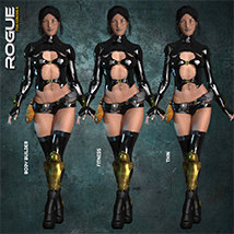 Exnem Rogue Outfit for G8 image 5