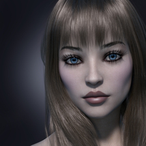 MbM Katie for Genesis 3 and 8 Female image 1
