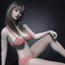MbM Katie for Genesis 3 and 8 Female image 3