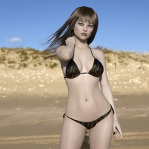 MbM Katie for Genesis 3 and 8 Female image 6