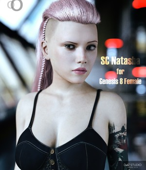 SC Natasha for Genesis 8 Female 3D Figure Assets secondcircle