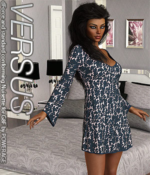 VERSUS - dForce and standard conforming Nuisette for G8F 3D Figure Assets Anagord