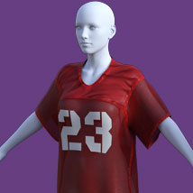 Greybro's Graphic Jersey for Genesis 8 Female image 2