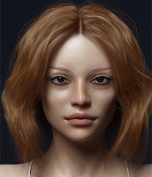 Briana G8F 3D Figure Assets -Valkyrie-