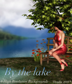 By the lake 2D Graphics ornylia