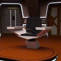 Starship Bridge 16 for DAZ Studio image 3