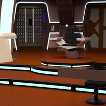 Starship Bridge 16 for DAZ Studio image 4