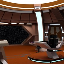 Starship Bridge 16 for DAZ Studio image 5