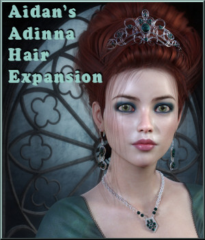 Adinna Hair Expansion 3D Figure Assets Propschick