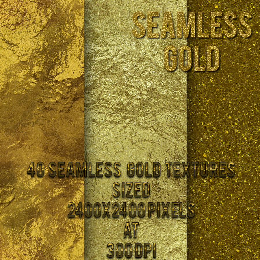Seamless Gold Textures