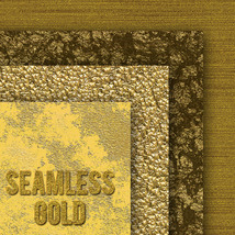 Seamless Gold Textures image 1