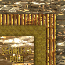 Seamless Gold Textures image 2