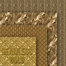 Seamless Gold Textures image 3