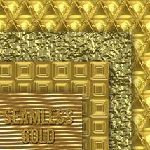 Seamless Gold Textures image 4
