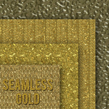 Seamless Gold Textures image 5