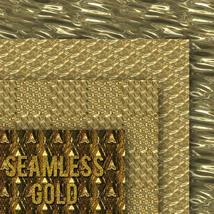 Seamless Gold Textures image 6