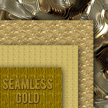 Seamless Gold Textures image 8