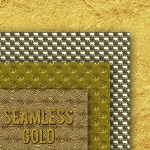 Seamless Gold Textures image 9
