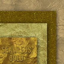 Seamless Gold Textures image 10