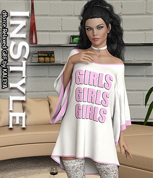 InStyle - dforce Relaxed G8F 3D Figure Assets -Valkyrie-