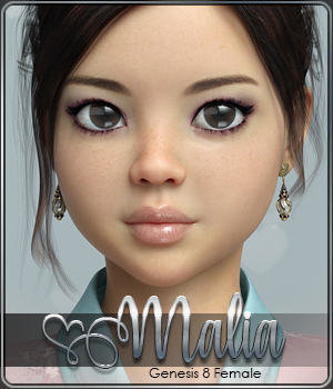 SASE Malia for Genesis 8 3D Figure Assets Sabby