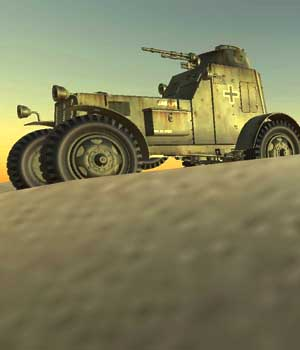 ARMOURED_CAR-World war II  - Extended Licence 3D Game Models : OBJ : FBX 3D Models Extended Licenses patidarshyam
