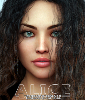 Alice For Genesis 8 Female 3D Figure Assets Freja