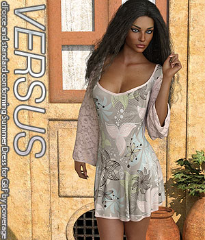 VERSUS - dForce and standard conforming Summer Dress for G8F 3D Figure Assets Anagord