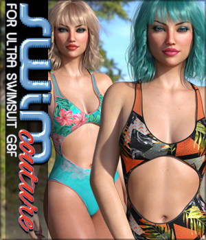 SWIM Couture for Ultra Swimsuit G8F 3D Figure Assets Sveva