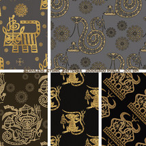 Seamless Ethnic Patterns image 1